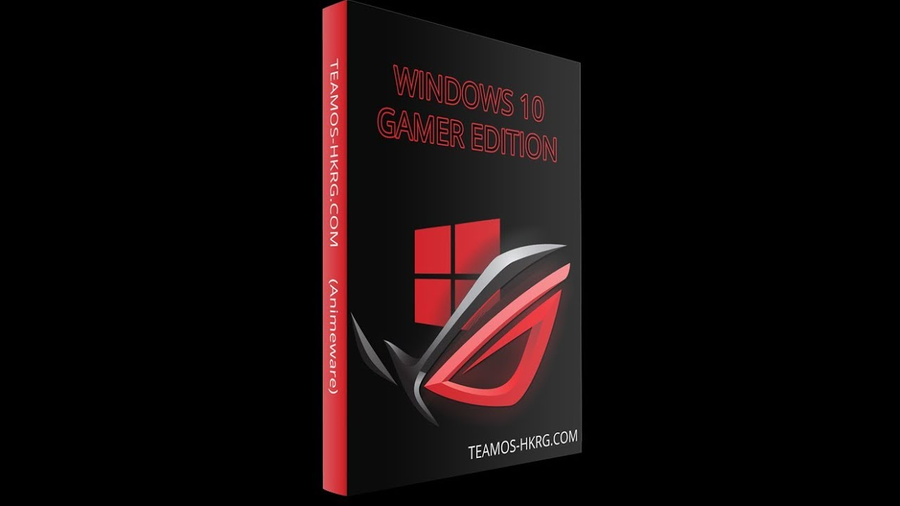 Windows 10 Gamer Edition 2018